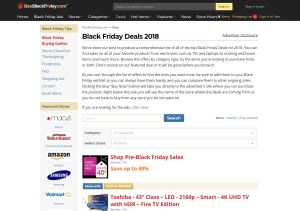 Top Black Friday Blogs - Best Black Friday