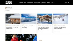 Top Winter Travel Blogs - In the Snow