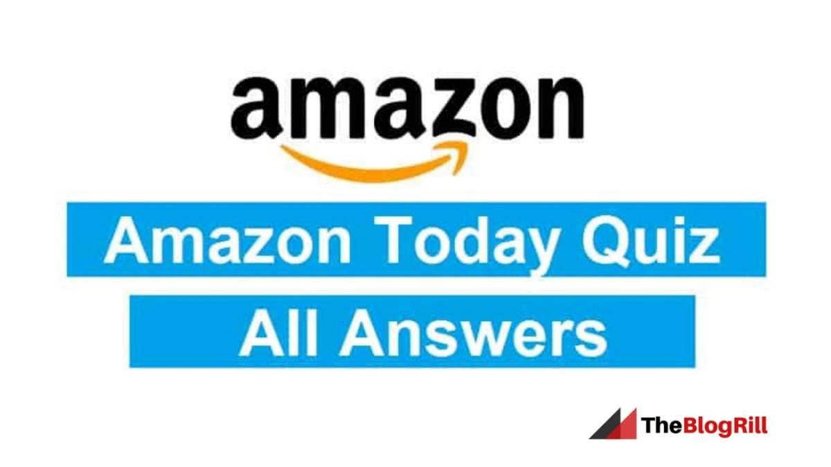 Amazon Quiz Time Contest ANSWERS 17-April-2019: Winner Price Tourist Bag