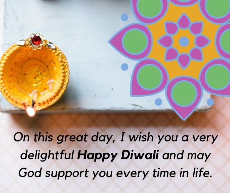 diwali social media post