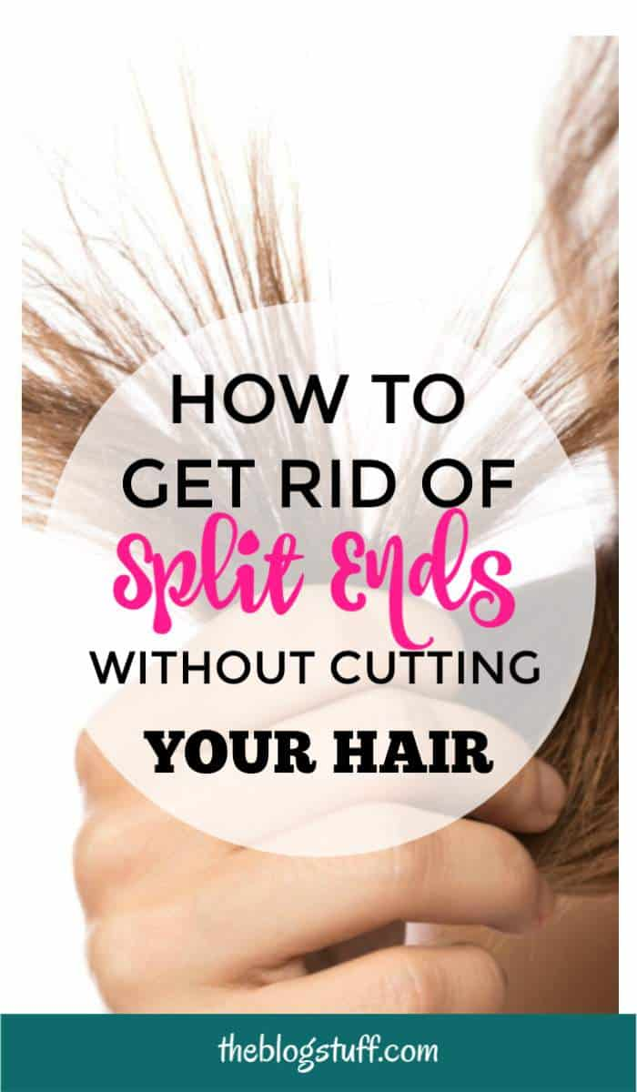 How to get rid of split ends without cutting your hair. Tips to fix and repair split ends at home