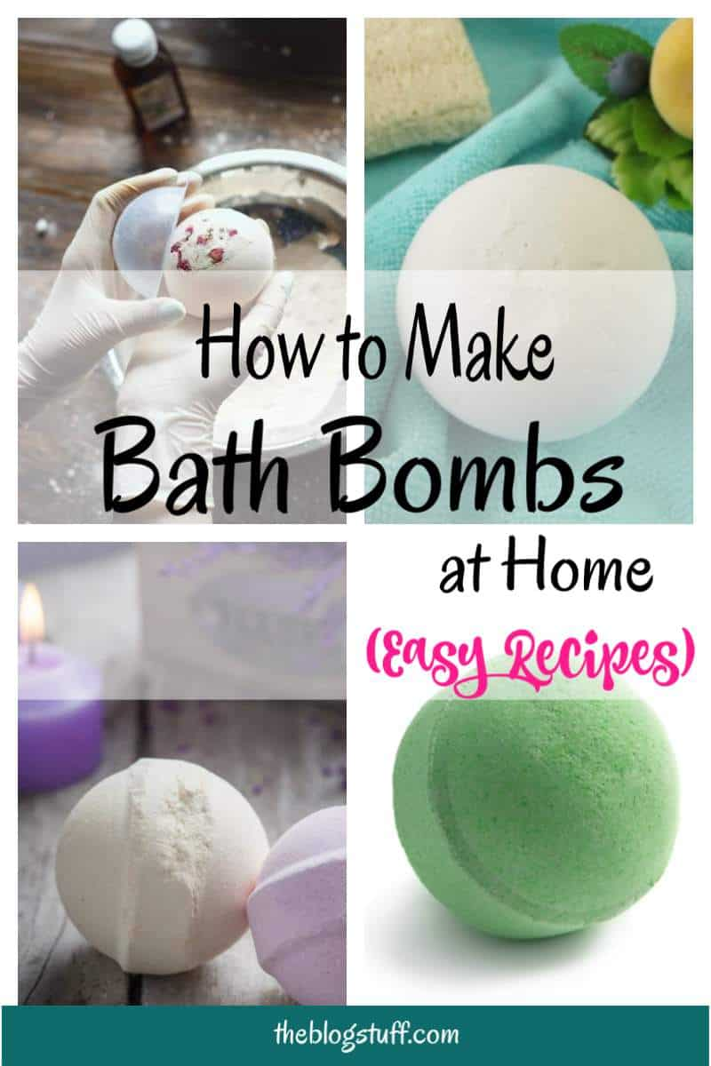 Easy diy essential oil bath bombs recipes with and without citric acid perfect for gift giving.
