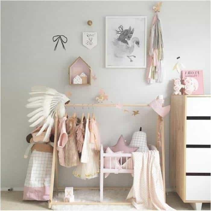Cute baby nursery