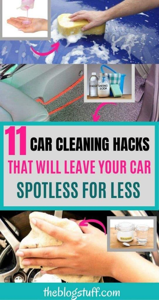 11 Car cleaning hacks with natural ingredients
