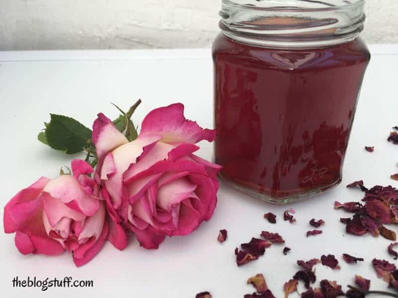 DIY rose water recipe