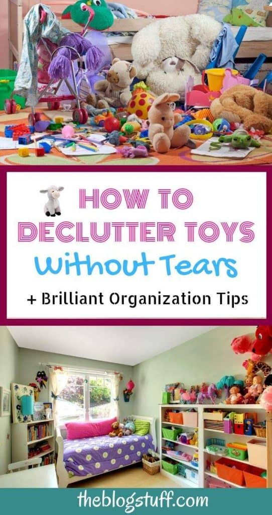 How to declutter toys with these great ideas and tips