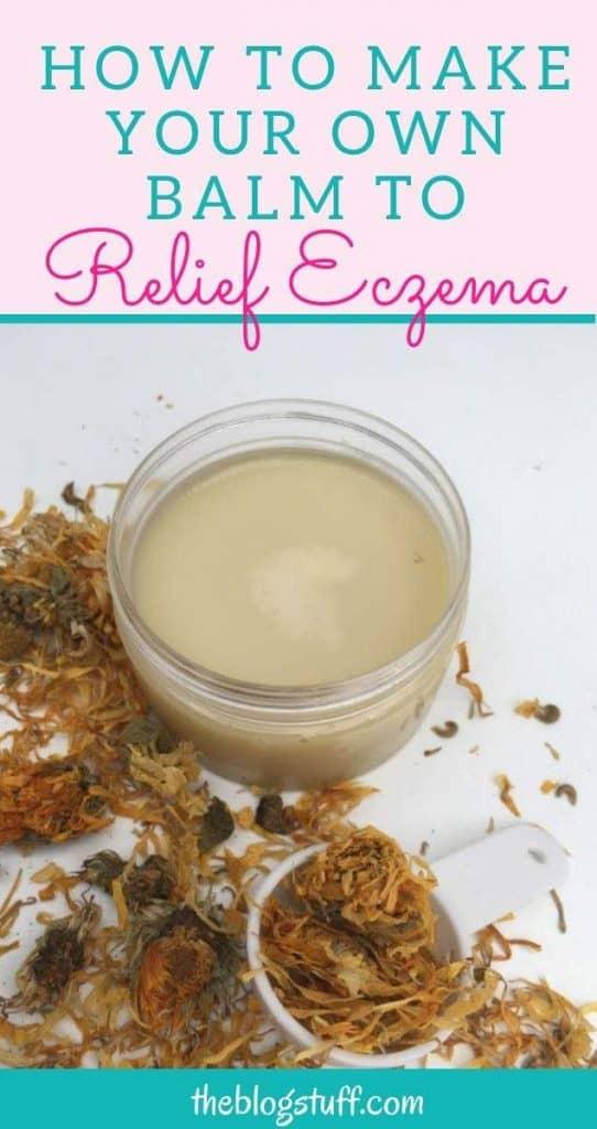 Homemade salve recipe  to relief eczema