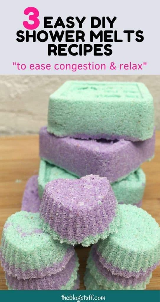 DIY shower melts recipe