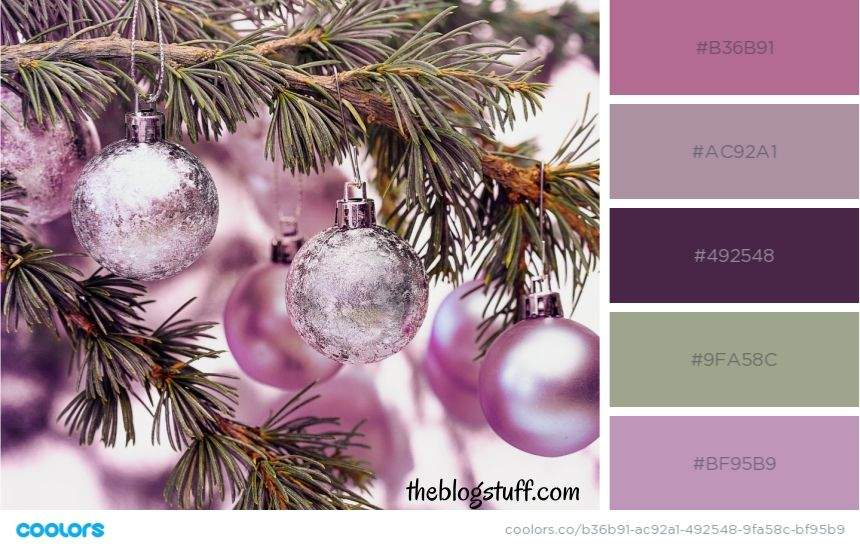 17 Christmas Color Palettes | Color Schemes & Trends (2020)