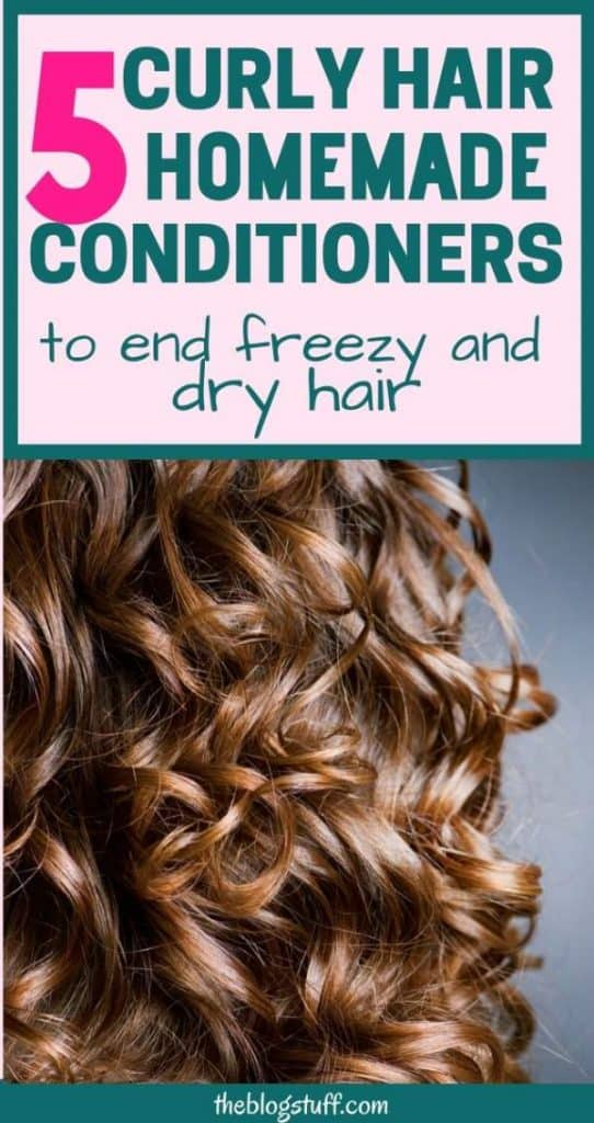 Natural conditioners for curly hair