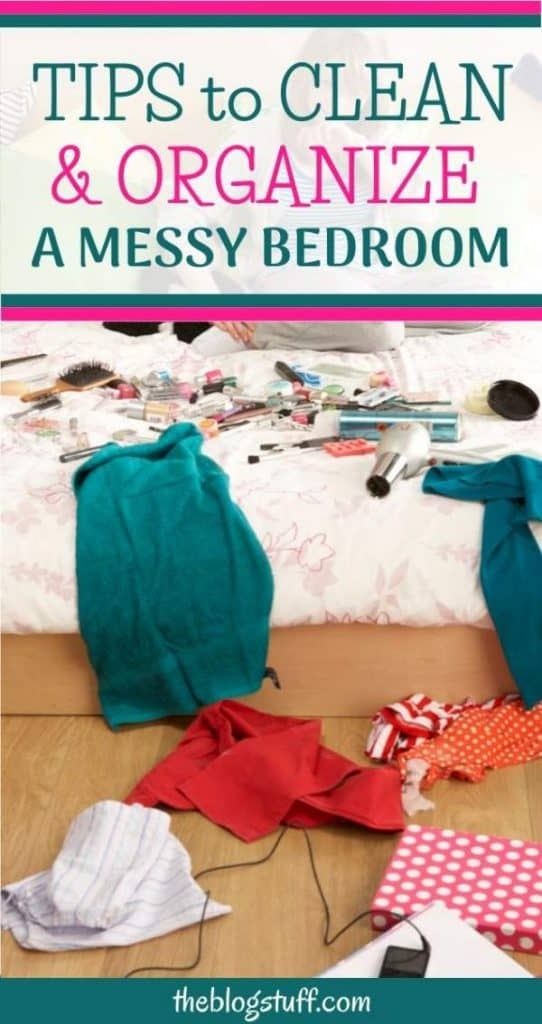 Bedroom cleaning and organization ideas