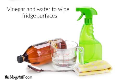 DIY fridge cleaning spray