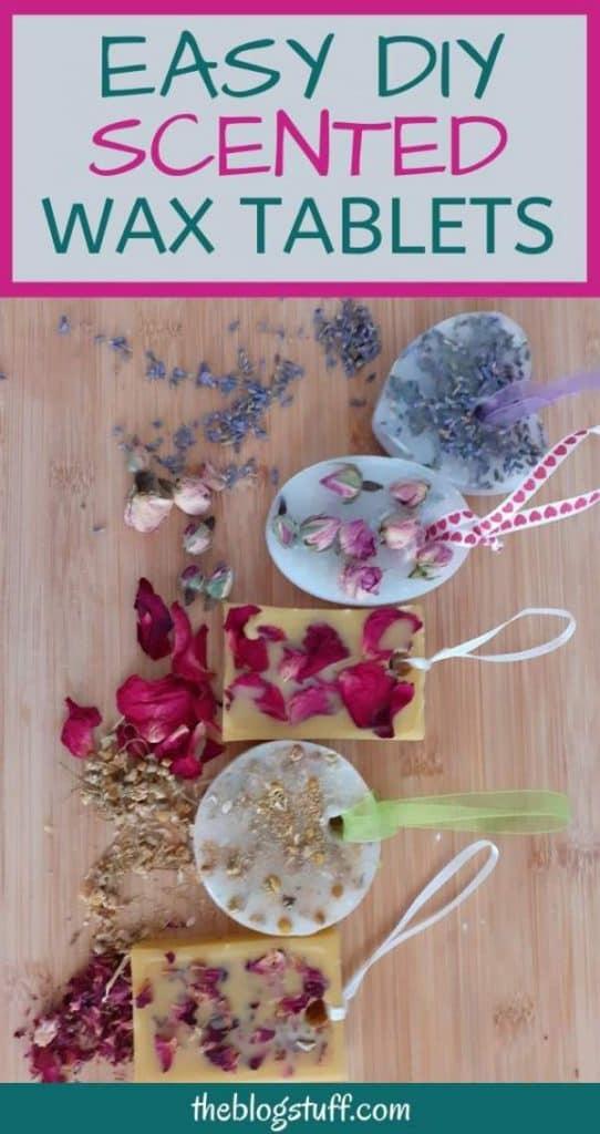 DIY scented wax tablets