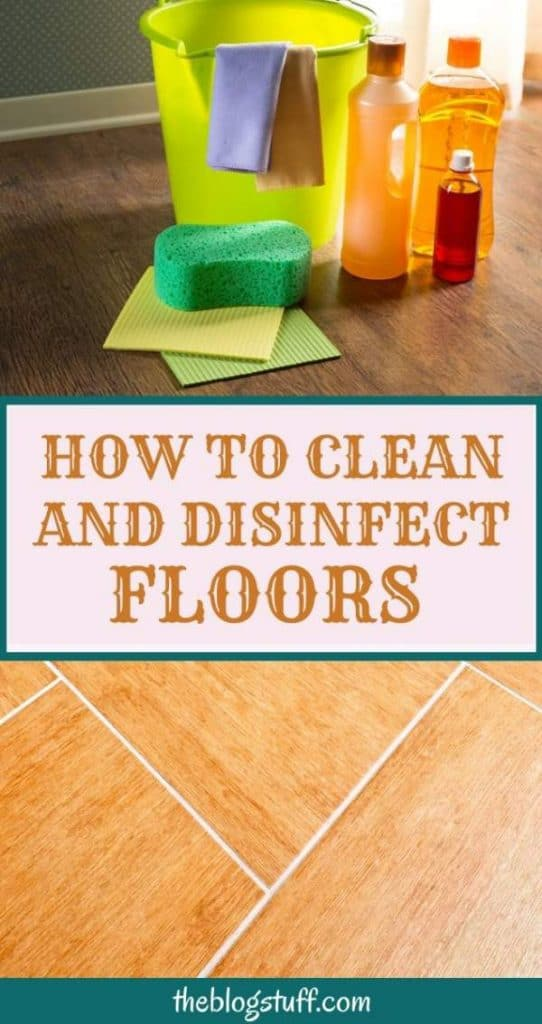 How to clean floors with vinegar