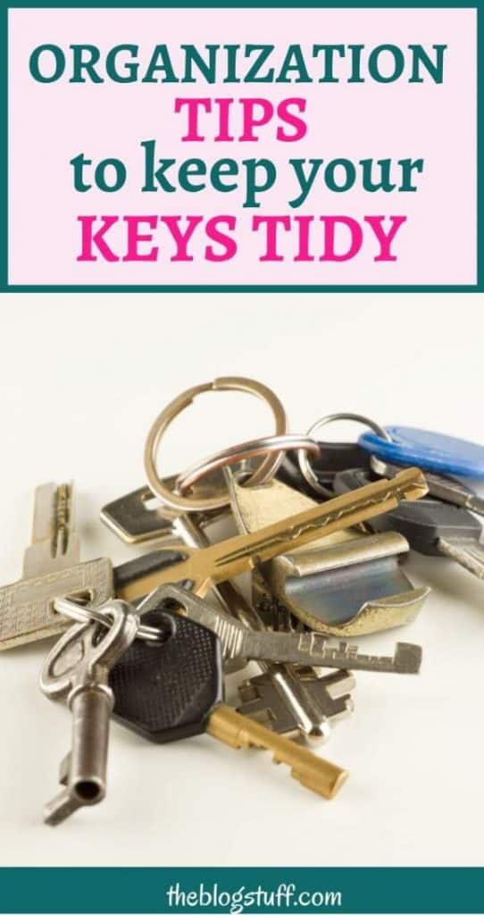 How to organize home keys