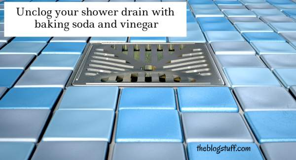 How to unclog shower drain naturally