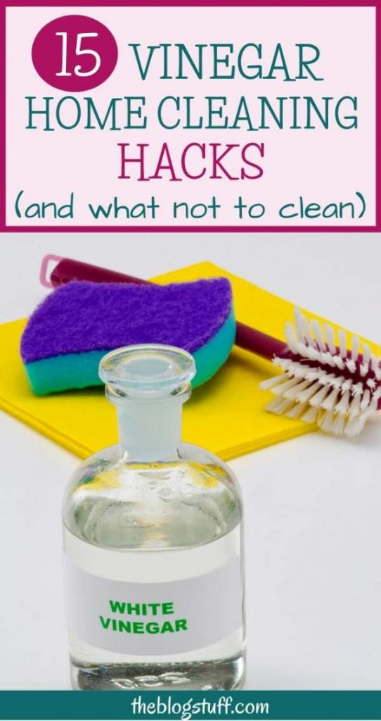 Vinegar home cleaning tips and hacks
