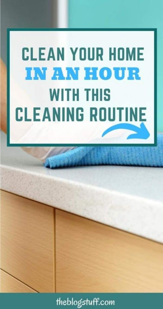 How to clean your home in an hour