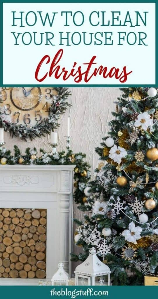 How to clean your home before Christmas