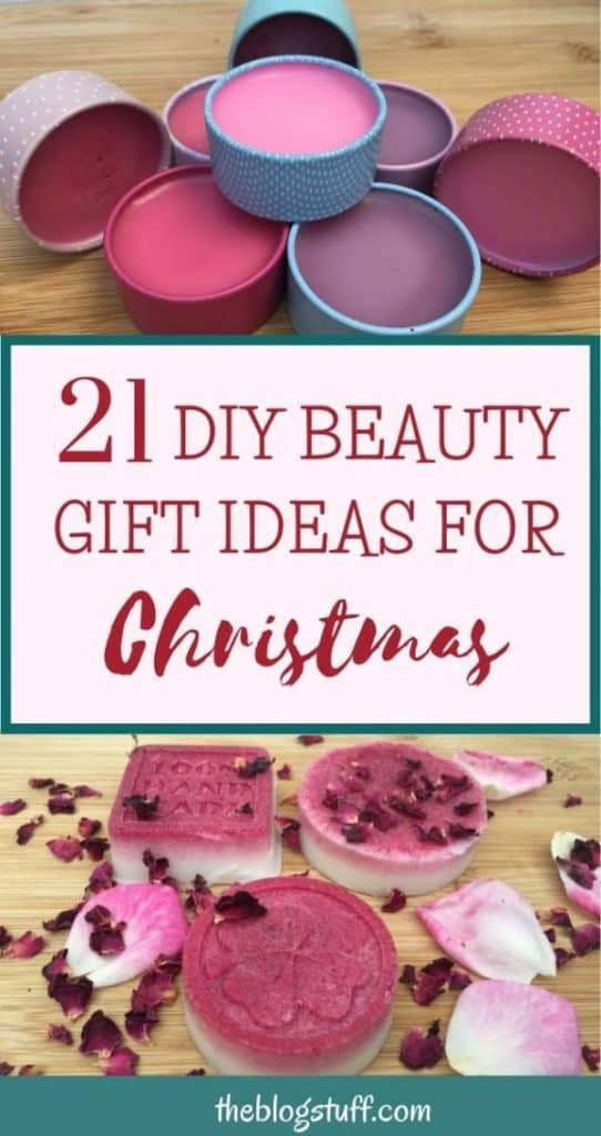 Homemade beauty gifts ideas for Christmas