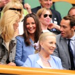 Pippa Middleton Attends Day 1 of Wimbledon