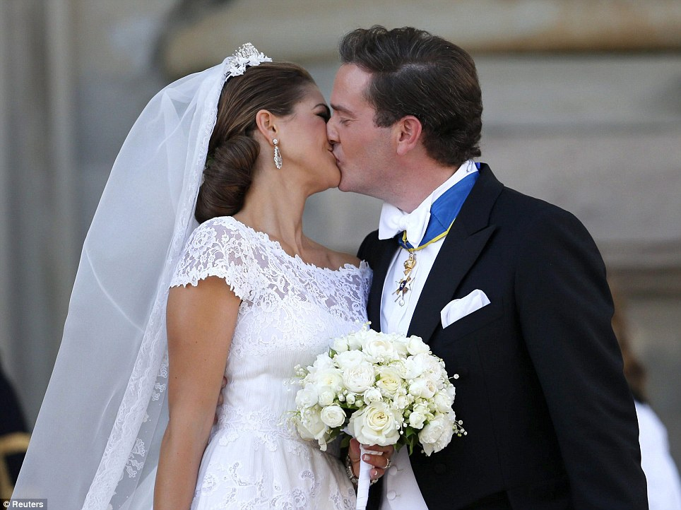 Princess Madeleine + Chris ONeill 6.8.13