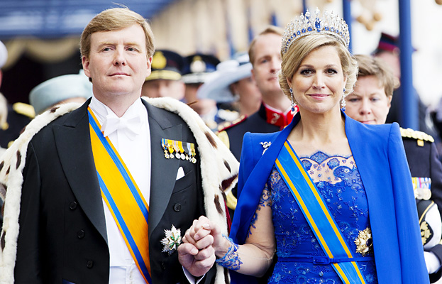 King Wilhem-Alexander and Queen Maxima