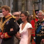 Prince Harry, Pippa Middleton, and The Queen Meet Baby Cambridge