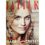 Prince Harry's Girlfriend Graces The October Issue of Tatler