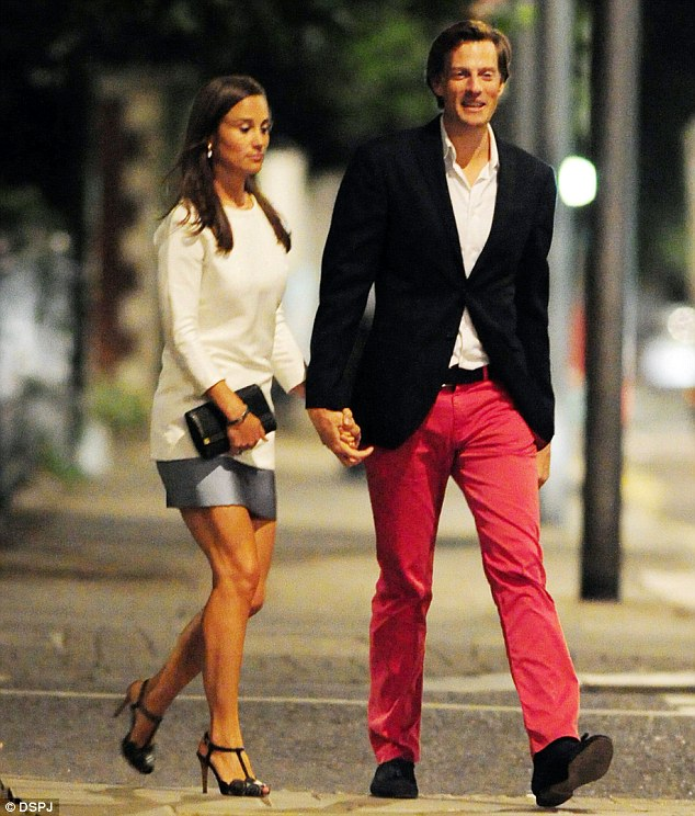 Pippa Middleton with Nico Jackson