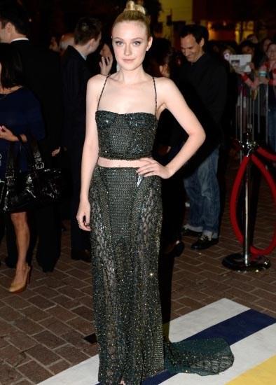 Dakota Fanning - Night Moves Premier - Atelier Versace
