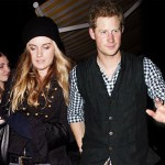 Prince Harry And Girlfriend Cressida Bonas Take In  A Concert