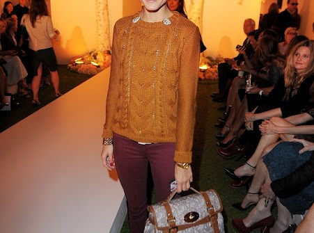 Olivia Palermo London Fashion Week