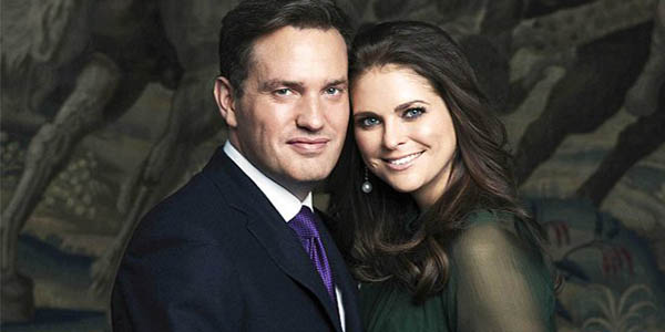 Princess Madeleine + Chris ONeill