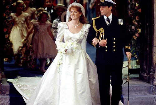 The Duke and Duchess of York