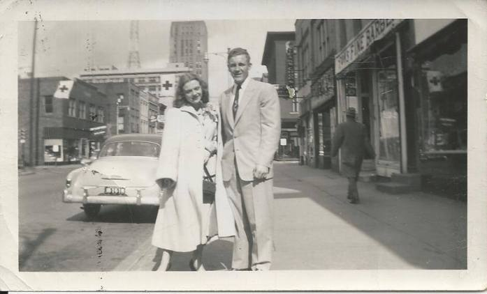 My grandmother and my dad's father (who died when I was just a baby) when they were young.