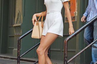 Taylor Swift White Romper