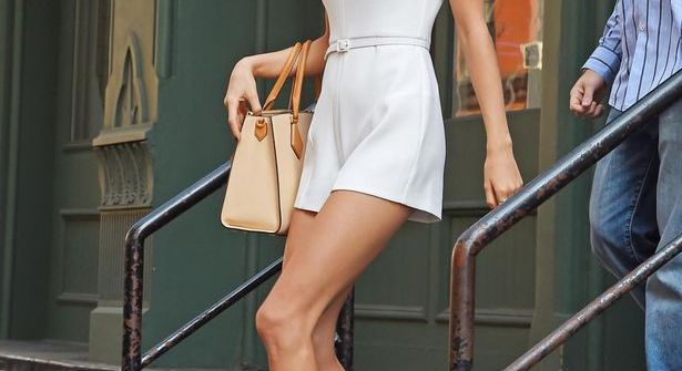 Taylor Swift White Romper