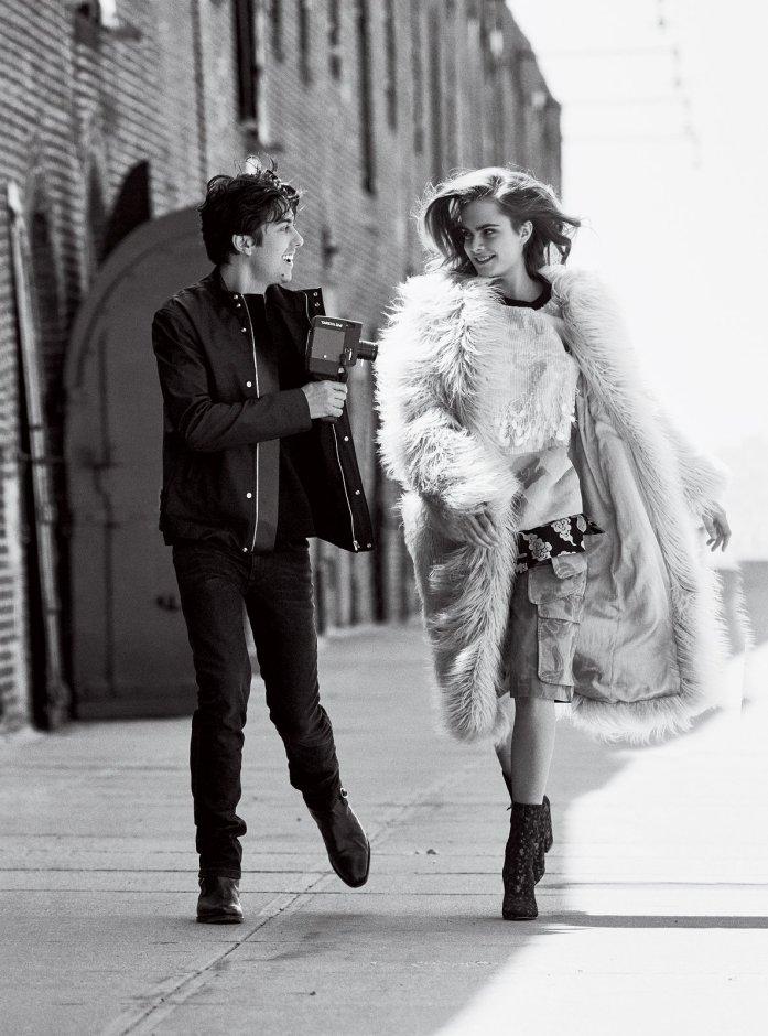 Cara Delevingne Vogue