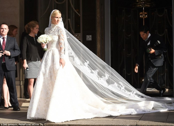 Nicky Hilton Wedding Gown
