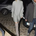 Style Stalker | Gigi Hadid's Grey Sweaterdress
