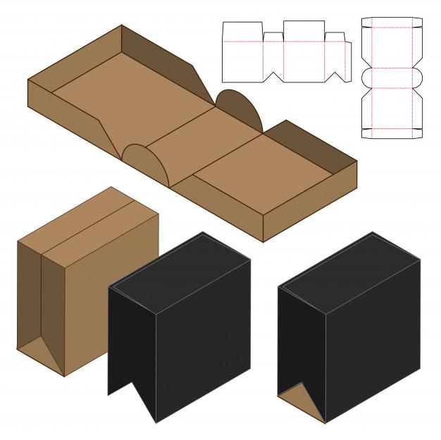 Cut out Rigid Box
