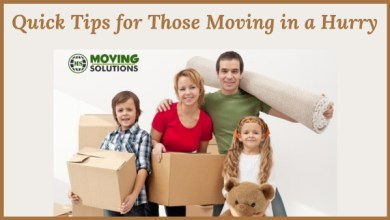 Photo of Quick Tips for Those Moving in a Hurry