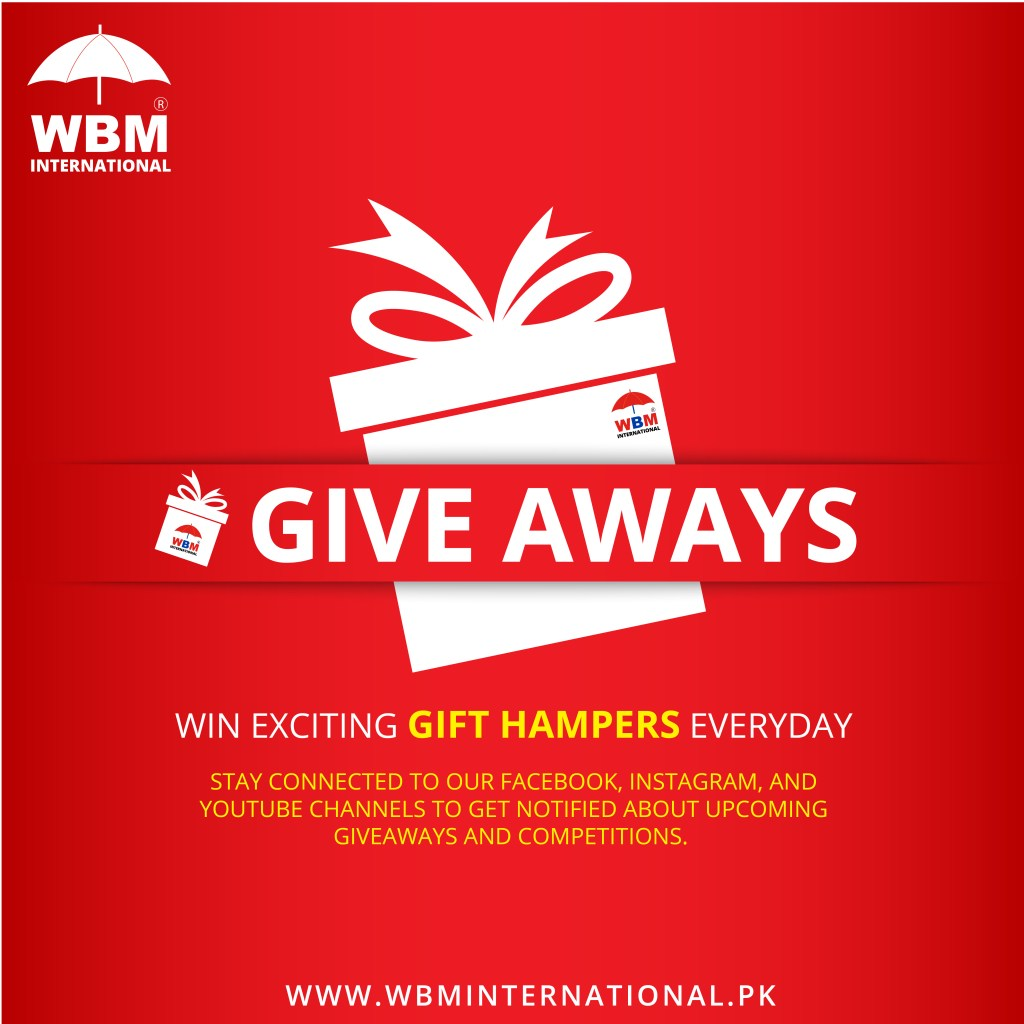 WBM International Giveaways