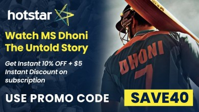 Photo of 10% Hotstar Offer and $40 Gift