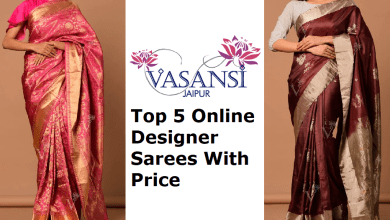 Photo of Top 5 Designer Sarees Online With Price