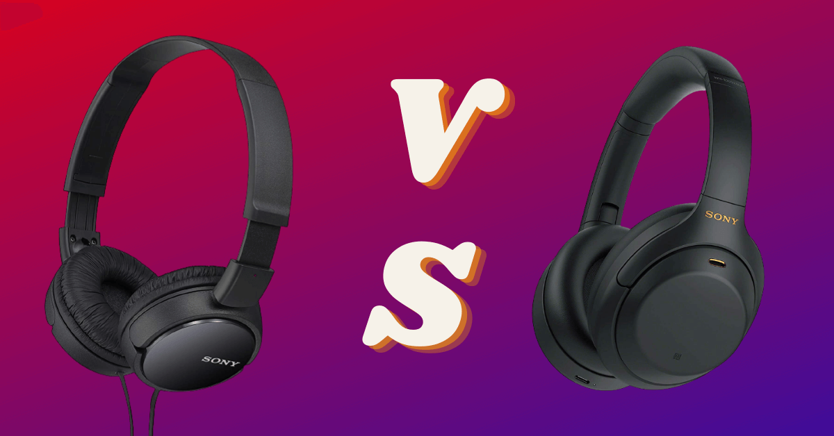 wired vs wireless noise-canceling headphone
