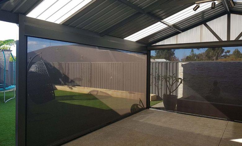 outdoor ziptrak blinds