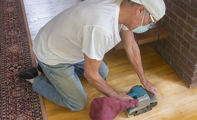 wood floor refinishing services