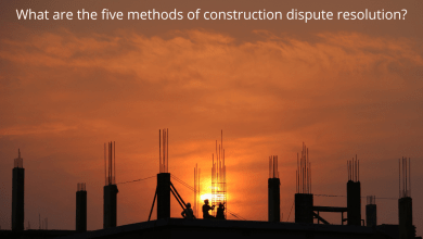 Photo of What are the five methods of construction dispute resolution?